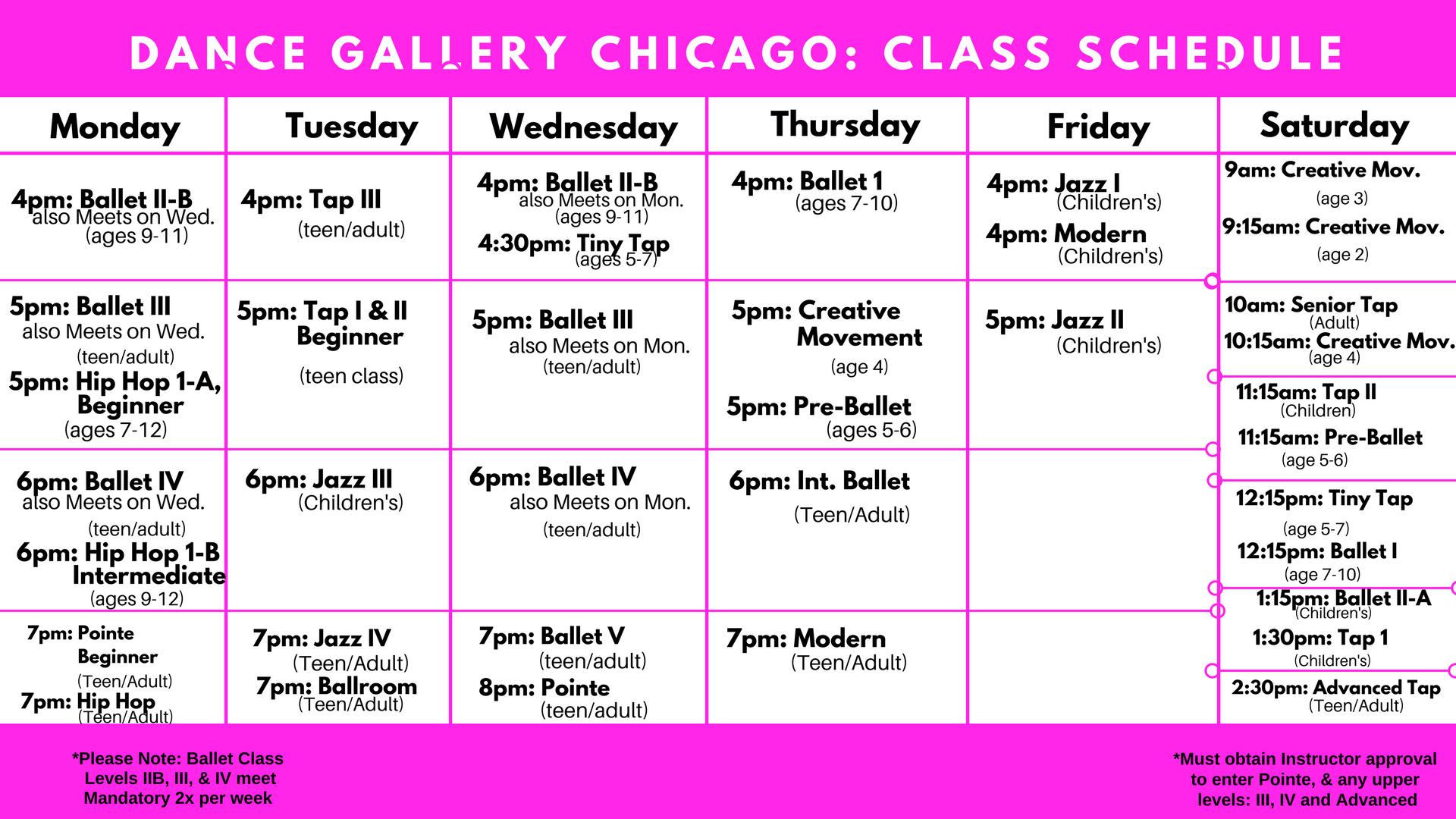 dance classes, tap ballet jazz, dance studio